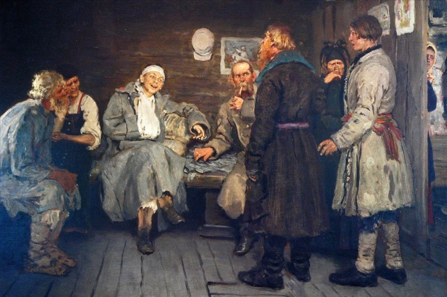 Ilya-Repin-The-Soldiers-Tale